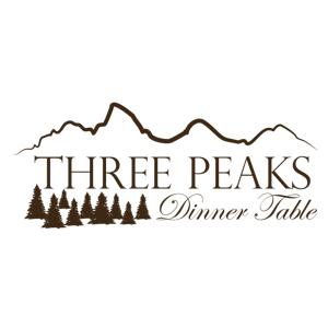 Three Peaks Dinner Table